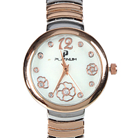 An Elegant Watch adorned with Stones for Women