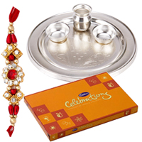 Fascinating Rakhi Gift Set for Auspicious Occasion