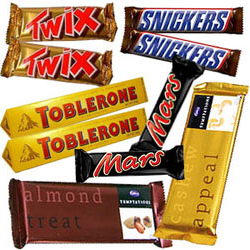 Delicous Chocolate Bars Hamper